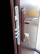 Тамбурные двустворчатые металлические входные двери Техно 2 в коридор 120 см., фото 2