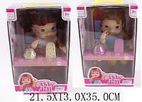 """Кукла функц типа """"Baby Alive"""" 888/893 (1482959/62) (24шт/2), реагир на мор из наб,в кор.21,5*13*35c"""