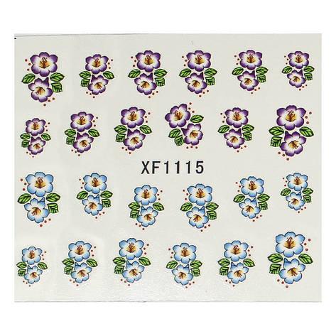 KATTi Наклейки водные XF-1115, фото 2