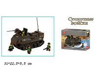"""Конструктор SLUBAN M38-B6300R (36шт) """"Сухопутные войска"""" , 223 дет, кор.31*22,5*5,5 см"""