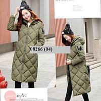 Пальто женское стеганное 08266 (04)