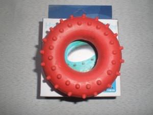 Эспандер кистевой, кольцо с шипами 25 кг.