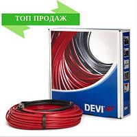 Нагревательный кабель двухжильный DEVIflexTM 18T (22,0 м) теплый пол Devi, фото 1