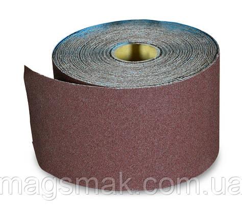 Бумага наждачная на тканевой основе, водост., 200 мм № 40, 50 м, фото 2