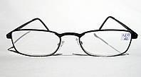 Очки для коррекции зрения Farsi 1818 (рмц 62) (вставка Изюмское стекло)