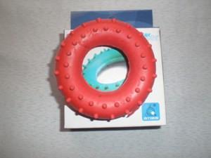 Эспандер кистевой, кольцо с шипами 20 кг.