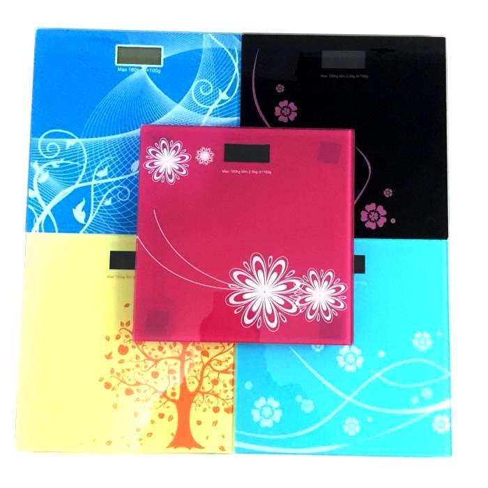 Весы напольные электронные с рисунком 555