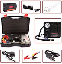 Набір пуско-зарядний пристрій універсальне 30000 маг. + міні компресор TM19A