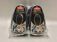 Smart Губка-блеск для обуви с дозатором силикона ЧЕРНАЯ 8мл