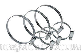 Хомут стяжной оцинкованная сталь 10-16 мм, 20 шт.