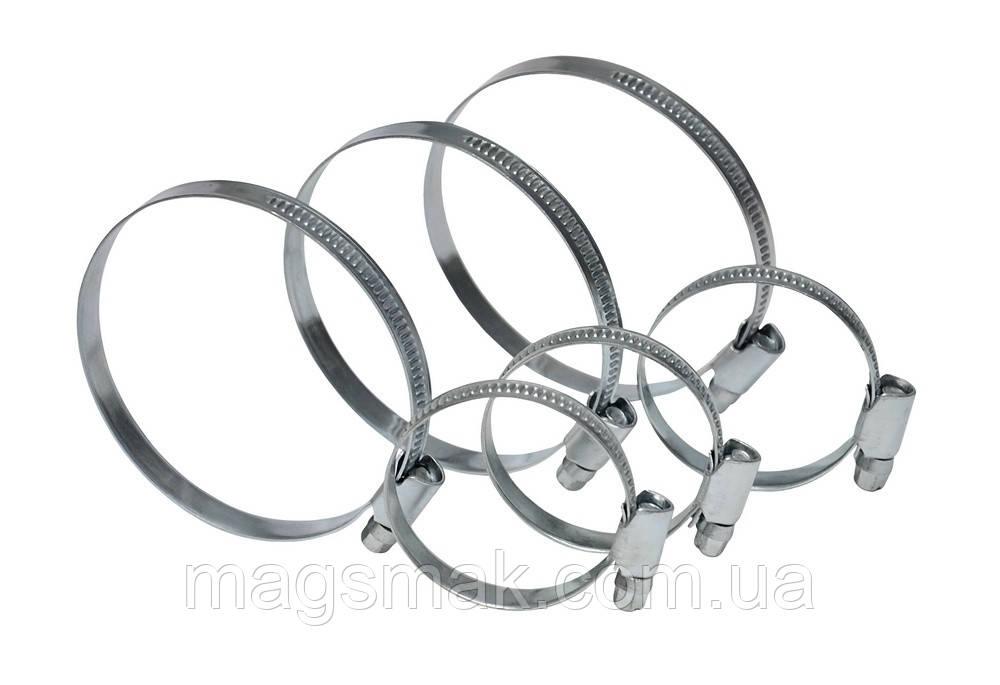 Хомут стяжной оцинкованная сталь 16-25 мм, 20 шт.