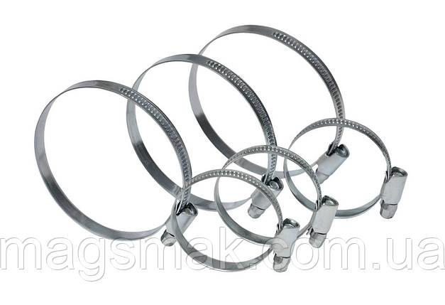 Хомут стяжной оцинкованная сталь 16-25 мм, 20 шт., фото 2