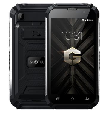 "Geotel G1 Terminator 5"" (1280x720) Glass / MT6580 / 2Гб /16Гб /8Мп / 7500мАч Black"