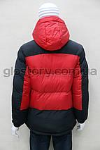 Мужская куртка Glo-story красная, фото 3
