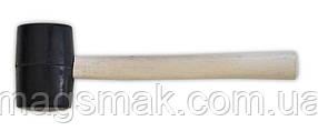 Киянка резиновая, деревянная ручка 700 г, 65 мм