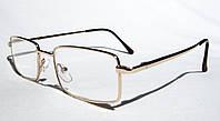 Очки для коррекции зрения 9393 (рмц 62-64) (вставка Изюмское стекло)