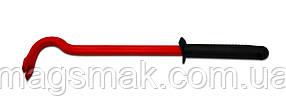 Лом-гвоздодер, шестигранный, прорезиненная ручка 300 мм