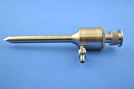 Троакар 5.5*95 мм с клапаном на пружине