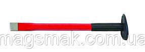 Зубило, резиновая ручка d=14 мм, 250 мм