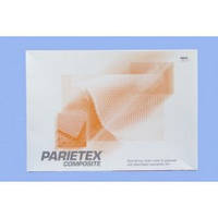 ПАРИЕТЕКС сетка для диафрагмальных грыж с обьемного полиэстера и рассасывающей коллагеновой пленкой 9х8см