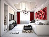 Дизайн интерьеров, жилых помещений, визуализация