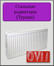 Турецькі сталеві радіатори OVI Therm
