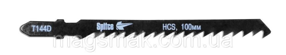 Полотно для э/лобзика, древесина,T-хв., HCS, 5 шт. ш/р, 100 мм, 4 мм (T144D)
