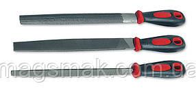 Набор напильников слесарных 200 мм, 3 шт.