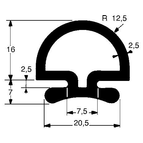 Ущільнювач гидроборта