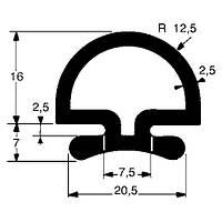 Уплотнитель гидроборта