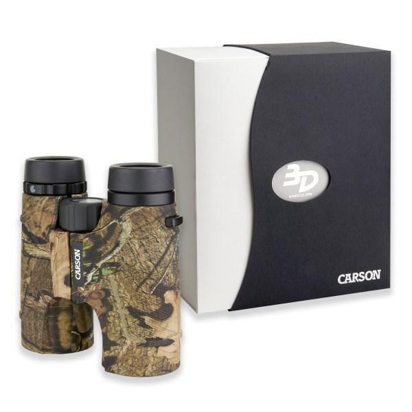 Бинокль Carson 3D 10х42 ED Mossy Oak™ Armor