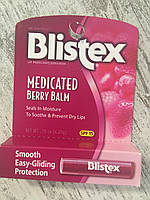 Заживляющий бальзам для губ ягодныйЗаживляющий бальзам для губ в стике (ягодный)  Blistex Medicated Berry Balm