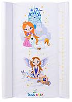 Пеленатор Tega TG-002 Маленькая принцесса белый