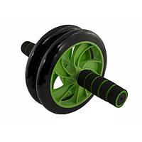 Ролик для пресса AB Wneel 2 колеса, тормоза, неопрен., D-200 R2001-1