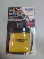 Автомобильная подставка карман под телефон АК0201 ткань желтая