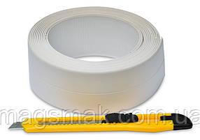 Лента-бордюр для ванн + нож 62 мм х 3,2 м