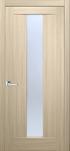 Двери межкомнатные Троя ПВХ стекло сатин