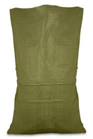 Мешок полипропиленовый, Украина зеленый, 55х105 см, 50 кг