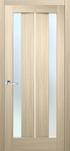 Двери межкомнатные Стелла ПВХ стекло САТИН (с молдингом)