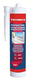 Герметик силиконовый универсальный белый, 230 мл