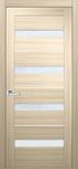 Двери межкомнатные Милано ПВХ стекло сатин (с молдингом)