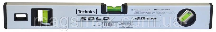 Уровень алюминиевый Solo, с магнитом, 3 глазка 200 см, фото 2