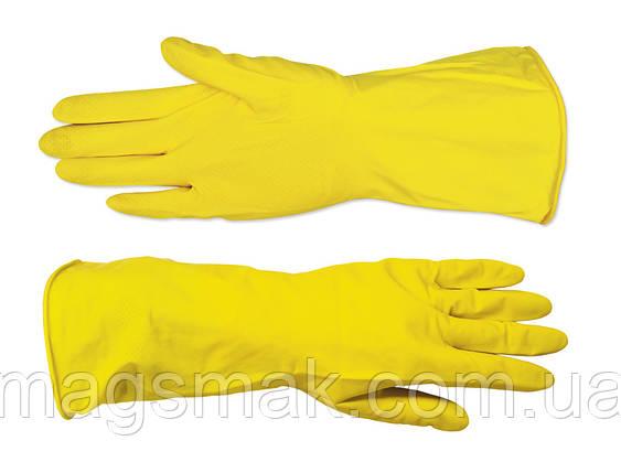"""Перчатки резиновые с внутренним напылением, тип """"Латекс"""" L, фото 2"""