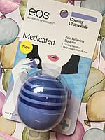 Заживляющий лечебный бальзам для губ EOS Medicated