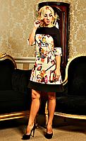 """Платье женское в дизайне """" Альбина """" Разные цвета"""