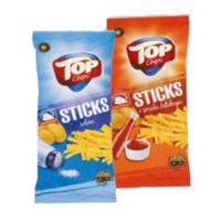 Снеки Top Chips Sticks в ассортименте 125г