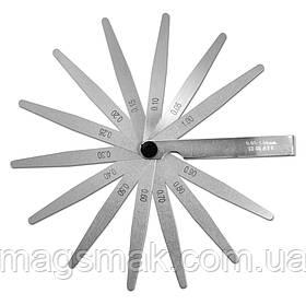 Щуп измерительный 13 лепестков, 0,05-1 мм