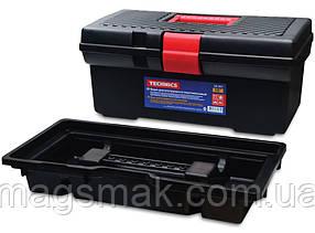 """Ящик для инструментов пластмассовый 12"""", 312х163х130 мм"""