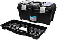 """Ящик для инструментов пластмассовый, металлическая застежка 15,5"""", 390х185х170 мм"""