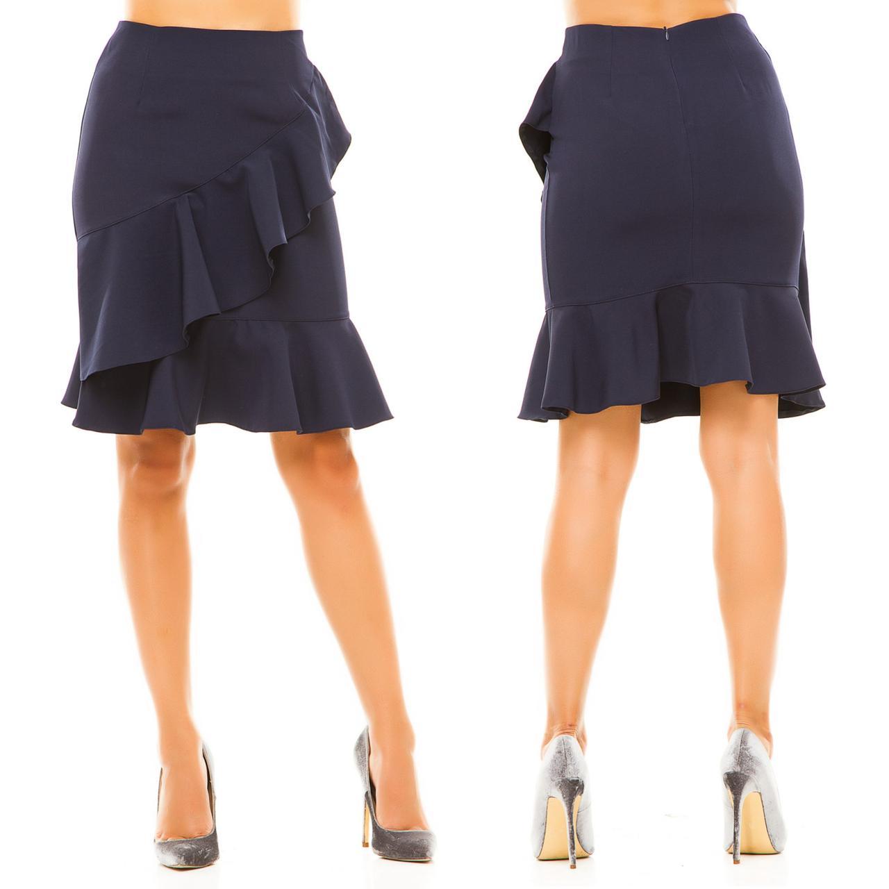 da342c4b81b Юбка с воланами - All You Need - прямой поставщик женской одежды оптом и в  розницу